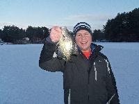 A little crappie to kick off 2013