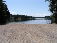 Tiger lake boat launch