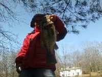 First bass of the year 5lbs