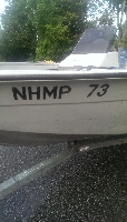 Marine Patrol Auction Boat
