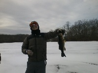 Largemouth at Cleveland Pond