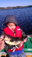 cams first bass of the year bigger than dads