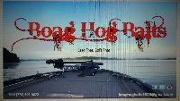 NEW BOAG HOG BAITS LOGO AND IMAGE!!