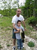 Uncle and Nephew with the Lunker!