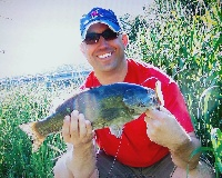 Kishwaukee river Smallie