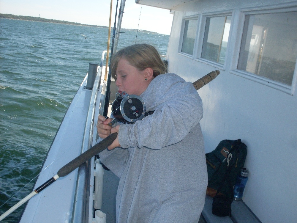 Plum Island Gut Fishing 2010