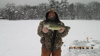 bass thru the ice