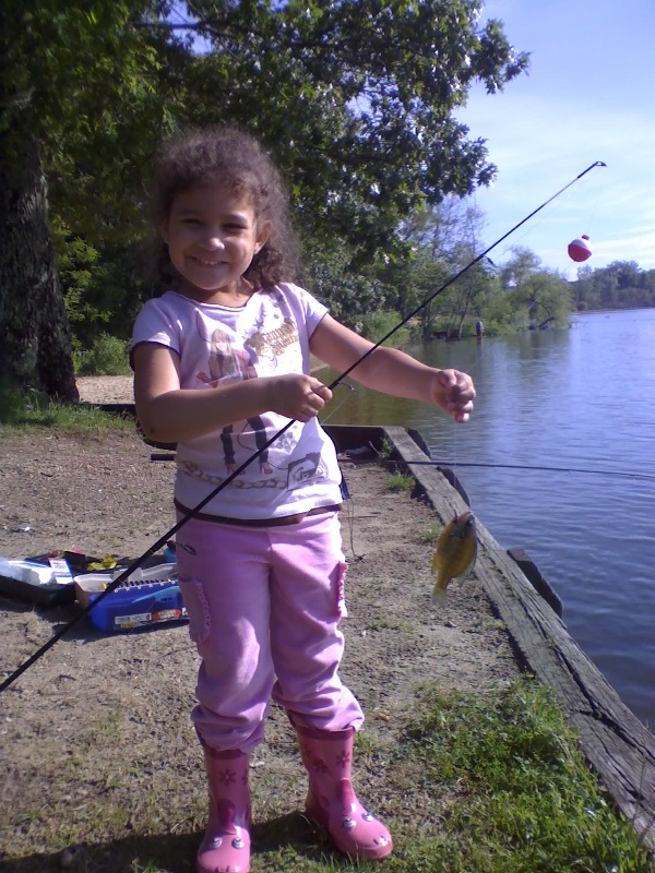 Sabrina's First Catch
