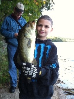 my son got his first bass