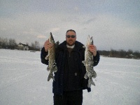 1st  couple pike from Champlain