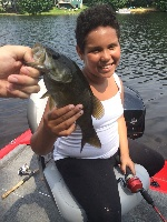 Her First Smallmouth