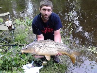 22 pound common carp 2012
