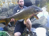 30 pound common carp my PB(personal best) 2013