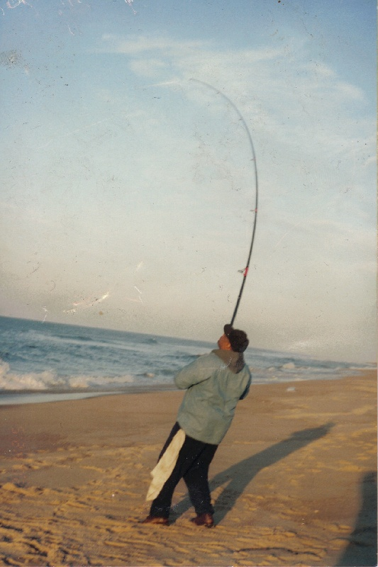 Montauk Surf fishing