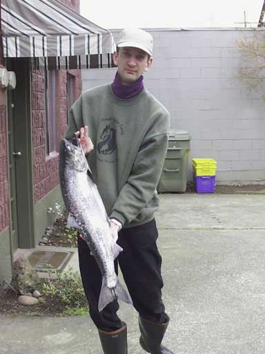 Salmon from Columbia River.