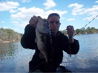 Nice largie returning my gear