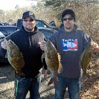 Paul And I was our 4th Place for 10.67lbs