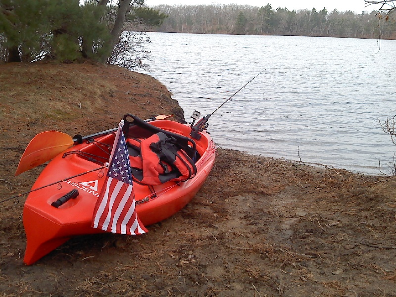 the all new outfitted kayak