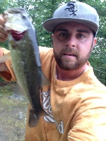 2pound 2oz Larry out of Ashville pond off canochet
