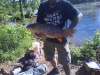 Muskie Adventure Tours Carping the Ct River