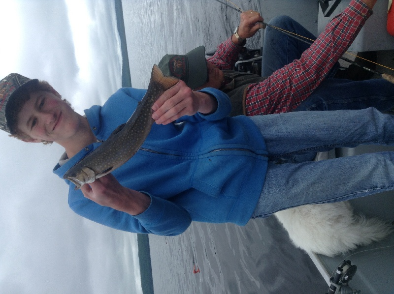 Best trout of the day, 14 inches