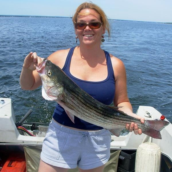 Another Striper from boat