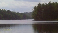 Long Pond portion of East Brimfield Lake