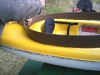 Raised Kayak Hull depth ourselves