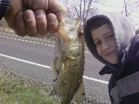 Jeremy's 2nd bass of the year