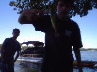 smallest  bass ive ever caught
