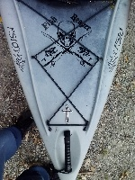 New Ascend FS10 Kayak